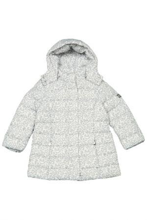 Куртка Dodipetto. Цвет: серый, белый