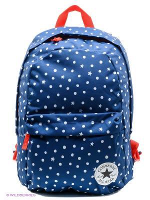Рюкзак CTAS Backpack Converse. Цвет: синий