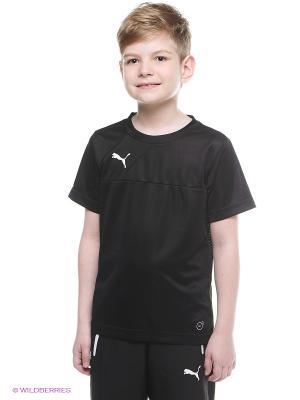 Футболка Esquadra Training Jersey Puma. Цвет: черный