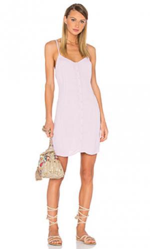 Платье alta Privacy Please. Цвет: бледно-лиловый