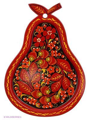 Поднос Сувенир Сувенирыч. Цвет: красный