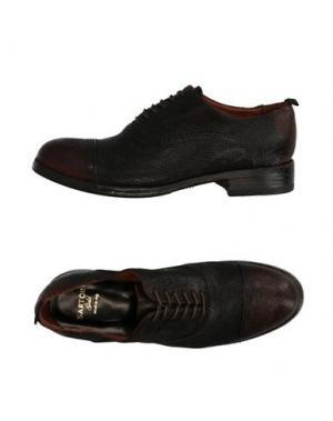 Обувь на шнурках SARTORI GOLD. Цвет: стальной серый