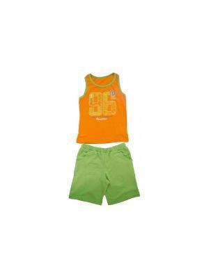 Комплект одежды РОССИЙСКИЙ ТРИКОТАЖ. Цвет: оранжевый