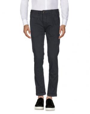 Повседневные брюки MAMUUT. Цвет: свинцово-серый