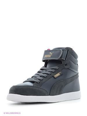 Кроссовки Puma IKAZ Mid Strap. Цвет: серый