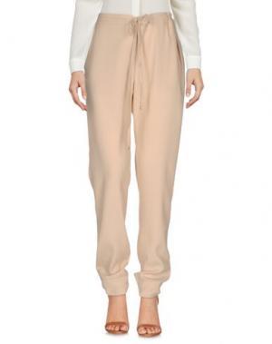 Повседневные брюки MYF. Цвет: бежевый