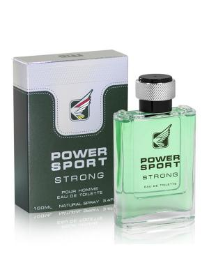 Туалетная вода Power Sport Strong  100 ml/м. Цвет: прозрачный