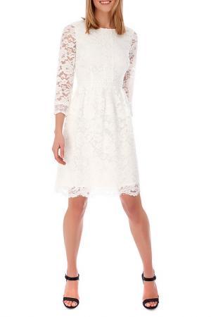 Платье Uttam Boutique. Цвет: cream