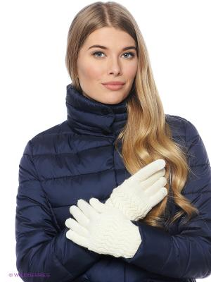 Перчатки FOMAS. Цвет: молочный, белый