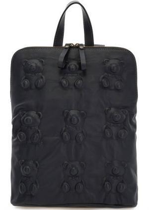 Сумка-рюкзак с одним отделом на молнии Io Pelle. Цвет: синий