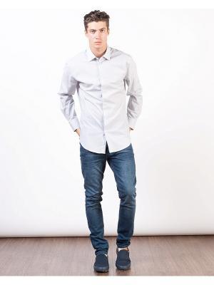 Рубашка INCITY. Цвет: белый