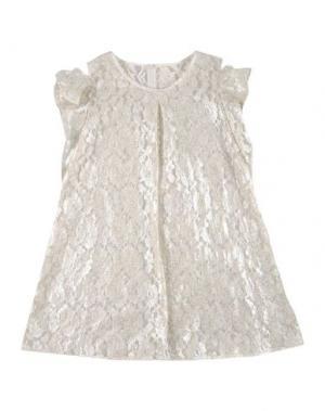 Платье LA STUPENDERIA. Цвет: слоновая кость