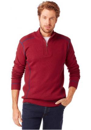 Пуловер GREY CONNECTION. Цвет: красный