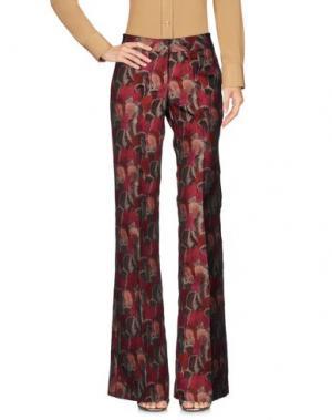Повседневные брюки GIULIETTE BROWN. Цвет: пурпурный