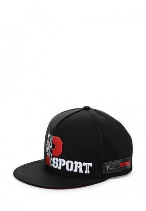 Бейсболка Plein Sport. Цвет: черный