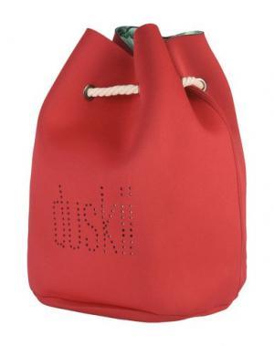 Рюкзаки и сумки на пояс DUSKII. Цвет: красный