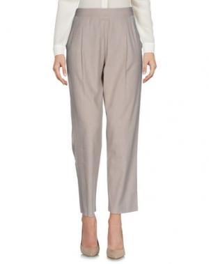 Повседневные брюки YES ZEE by ESSENZA. Цвет: бежевый
