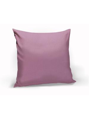 Подушка декоративная Hosta, 40х40 см Kauffort. Цвет: белый,зеленый,красный