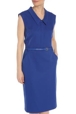 Платье BGN. Цвет: ultramarine