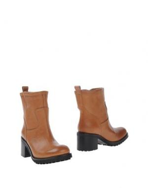 Полусапоги и высокие ботинки FABIO RUSCONI. Цвет: верблюжий