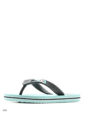 Пантолеты DC Shoes. Цвет: бирюзовый
