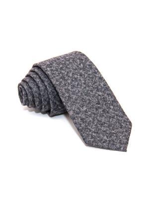 Галстук Churchill accessories. Цвет: серый, темно-фиолетовый