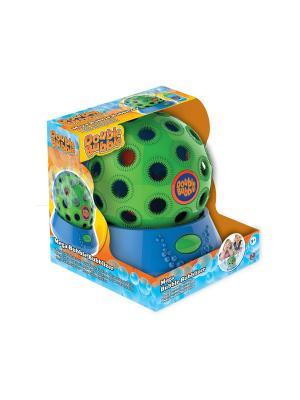 Установка с автоматическим пусканием мыльных пузырей Диско-шар HTI. Цвет: светло-зеленый, голубой, оранжевый
