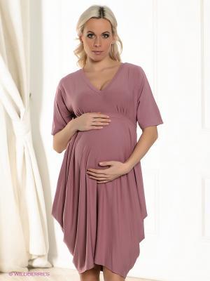 Платье UNIOSTAR. Цвет: бледно-розовый