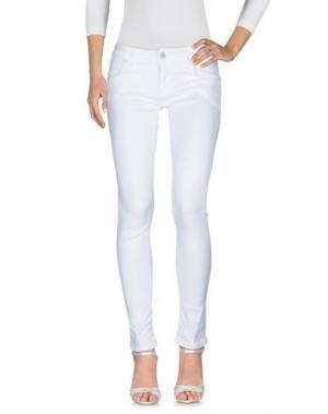 Джинсовые брюки SHAFT. Цвет: белый