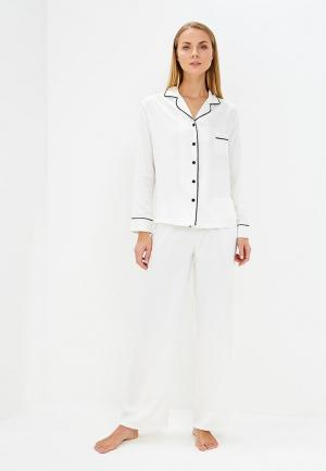 Пижама Bluebella. Цвет: белый