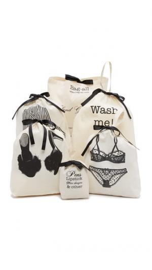 Набор женских сумок для поездок на выходные Bag-all