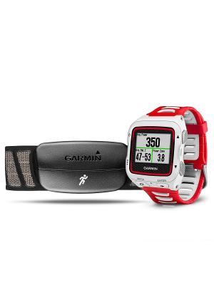 Умные часы Forerunner 920XT HRM-Run бело-красный с пульсометром GARMIN. Цвет: белый