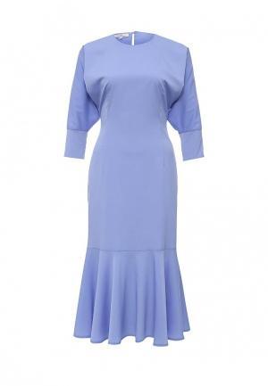 Платье Aleksandra Vanushina. Цвет: голубой