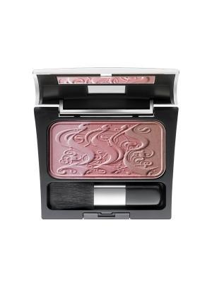 Палетка из трех румян Rosy Shine Blusher №14, оттенки полисандрового дерева Make up factory. Цвет: бронзовый, коралловый, светло-коралловый