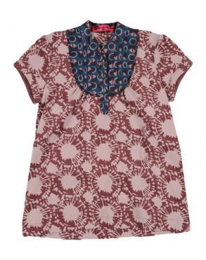 Блузка CUSTO GROWING. Цвет: пурпурный