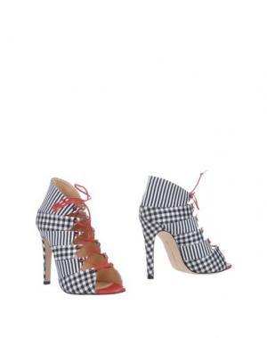 Ботинки CHARLINE DE LUCA. Цвет: черный