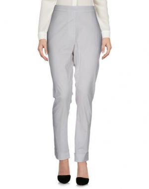 Повседневные брюки KristenseN DU NORD. Цвет: светло-серый