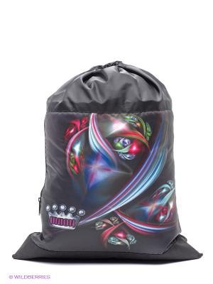 Мешок для обуви UNION. Цвет: черный, бордовый