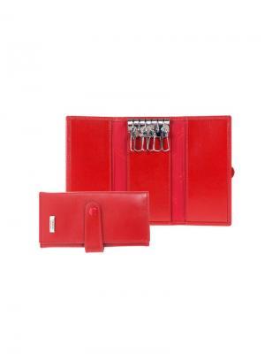 Ключница Tirelli. Цвет: красный