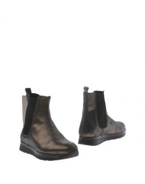 Полусапоги и высокие ботинки BRAWN'S. Цвет: стальной серый
