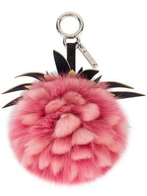 Брелок Fendi. Цвет: розовый и фиолетовый