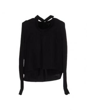 Блузка GIULIANO FUJIWARA. Цвет: черный