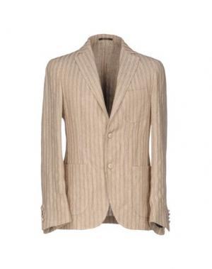 Пиджак ROYAL ROW. Цвет: песочный