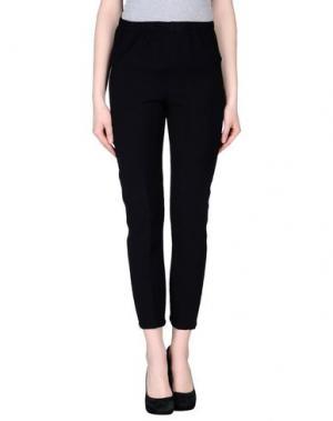 Повседневные брюки CORINNA CAON. Цвет: черный