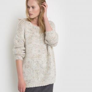 Пуловер Patxi SUNCOO. Цвет: бежевый меланж