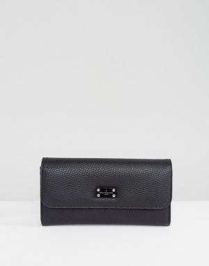 Pauls Boutique Черный кошелек Lane. Цвет: бежевый
