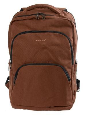 Городской рюкзак T-B3189 Tigernu. Цвет: коричневый