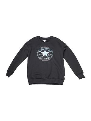 Джемпер Shine Pack Graphic Oversized Crew Converse. Цвет: черный