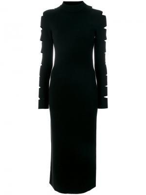 Платье Locke Zoe Jordan. Цвет: чёрный