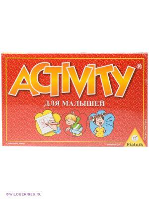 Настольная игра Aktivity для малышей Piatnik. Цвет: красный